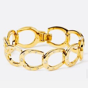 "Kate Spade ""Wild Ones"" Horseshoe Link Bracelet"